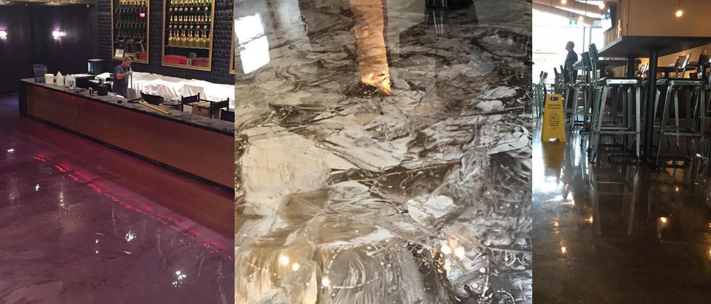 Restaurants and bars floor